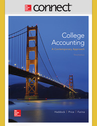 Connect 1-Semester Online Access for College Accounting (A Contemporary Approach)