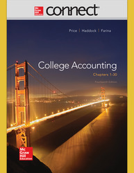Connect 2-Semester Online Access for College Accounting