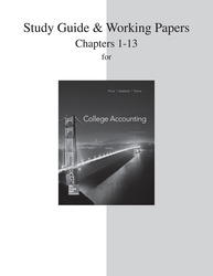 Study Guide and Working Papers for College Accounting  (Chapters 1-13)