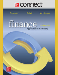 Connect 1-Semester Online Access to accompany Finance: Applications and Theory