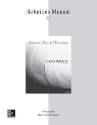 Solutions Manual for Investments