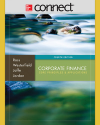 Connect 1-Semester Online Access for Corporate Finance: Core