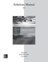 Solutions Manual to accompany Corporate Finance: Core Principles and Applications