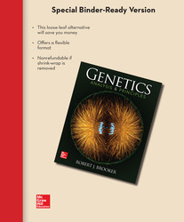 Loose Leaf Version for Genetics: Analysis and Principles