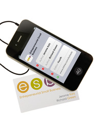 Entrepreneurial Small Business with Premium Content Access Card