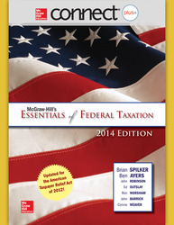 Connect 1-Semester Online Access for McGraw-Hill's Essentials of Federal Taxation, 2014 Edition
