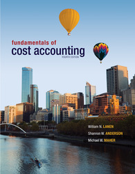 Loose Leaf Fundamentals of Cost Accounting with Connect Access Card