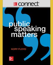 Connect Online Access for  Public Speaking Matters