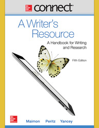 Connect Online Access For A Writers Resource 5e