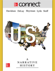Connect 1-Semester Online Access for US: A Narrative History, 7e