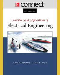 Connect 1 Semester Access Card for Principles and Applications of Electrical Engineering