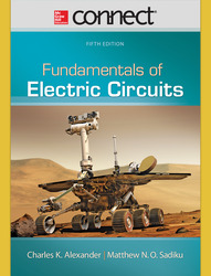Connect 1-Semester Online Access for Fundamentals of Electric Circuits