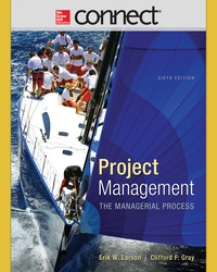 Connect 1-Semester Online Access for Larson, Project Management, 6e