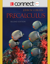 Connect 1-Semester Online Access for Preacalculus