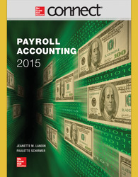 Connect 1-Semester Online Access for Payroll Accounting 2015