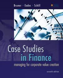 Case Studies in Finance