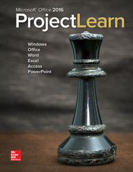 Microsoft Office 2016: ProjectLearn 1st Edition