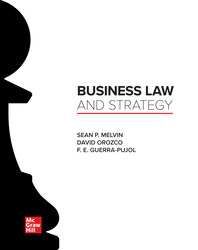 Business Law and Strategy 1st Edition