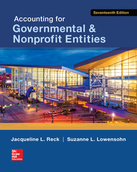 Accounting for Governmental & Nonprofit Entities