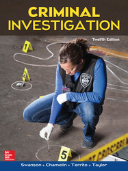 Criminal Investigation, 12th Edition