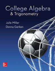 College Algebra & Trigonometry
