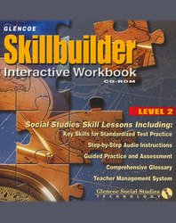 Social Studies, Skillbuilder Interactive Workbook Level 2 CD-ROM Windows/Macintosh