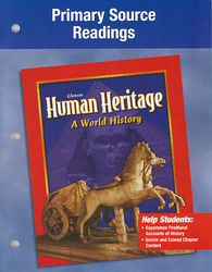 Human Heritage, Primary and Secondary Source Readings