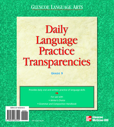Writer's Choice, Grade 9, Daily Language Practice Transparencies
