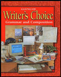 Writer's Choice © 2001, Grade 10, Interactive Tutor Self-Assessment CD-ROM