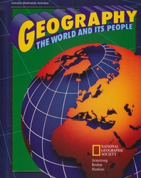 Geography: The World and Its People, Activities Workbook, Student Edition