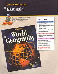 Glencoe World Geography, Unit 9 Resources