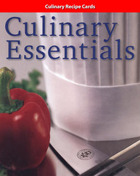 Culinary Essentials, Student Motivation Kit, Recipe Cards