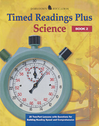 Timed Readings Plus in Science  Book 1