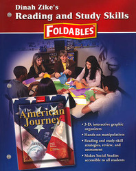 American Journey, Reading and Study Skills Foldables
