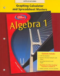 Algebra 1 Graphing Calculators and Spreadsheets Masters