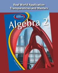 Algebra 2,Real World Application Transparencies and Masters