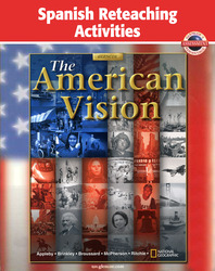American Vision, Spanish Reteaching Activities