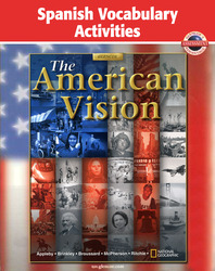 American Vision, Spanish Vocabulary Activities
