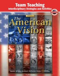 American Vision, Team Teaching Interdisciplinary Strategies and Activities