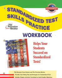 American Vision, Standardized Test Practice Workbook, Student Edition
