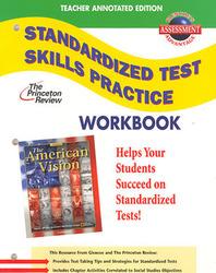 American Vision, Standardized Test Practice Workbook, Teacher Edition
