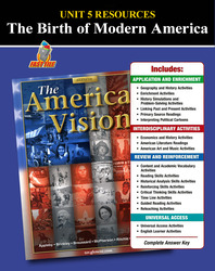 American Vision, Unit 5 Resources