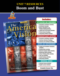 American Vision, Unit 7 Resources