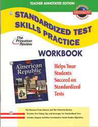 American Republic Since 1877, Standardized Test Practice Workbook, Teacher Edition