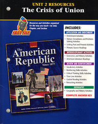 American Republic Since 1877, Unit 2 Resources