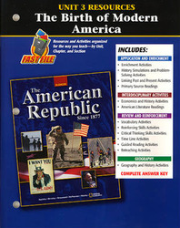American Republic Since 1877, Unit 3 Resources