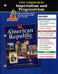 American Republic Since 1877, Unit 4 Resources