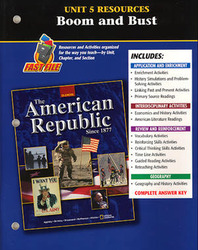 American Republic Since 1877, Unit 5 Resources