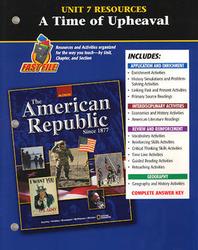 American Republic Since 1877, Unit 7 Resources