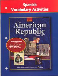 American Republic Since 1877, Spanish Vocabulary Activities